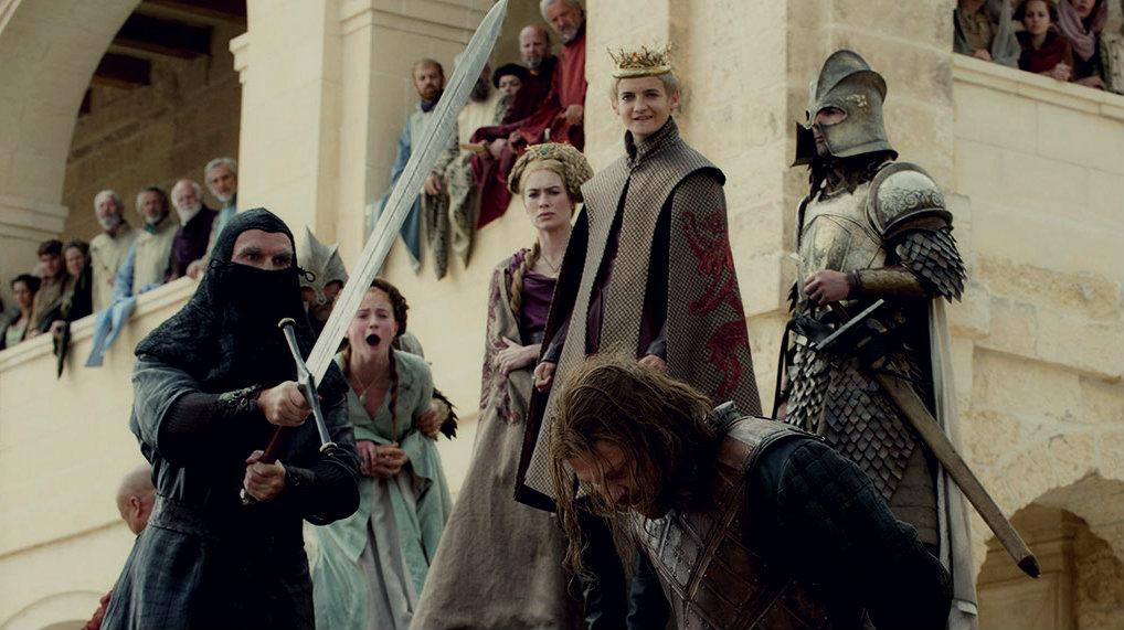 Cersei chose Joffrey over Ned